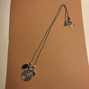 Lucky Brand Blue and Silver Necklace